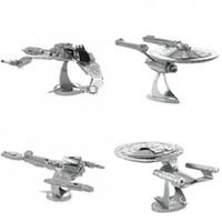 animal prey - 3D Metal Puzzles Star Trek NCC DIY Metallic Model BIRD OF PREY Educational Toy For Children Gifts For Adult