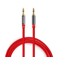 aux box - Mixcder AC505 Audio Cables mm Male to Male AUX Cables m Cable for Edifer Home Theater DVD Headphone Car Audio