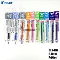 Wholesale LifeMaster Pilot BLS FR7 FriXion mm Erasable Gel Pen Refills For Pilot LFBN EF LFBK EF Black Blue Red