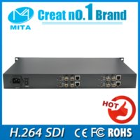 Wholesale 4 Ch H SDI Video Encoder IPTV Live Stream Broadcast RTMP HTTP RTSP H U Structure SDI video encoder