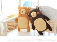 Haute qualité pluie Grand ours en peluche jouet hug oreiller stuffde jouet Soft Anime Doll Figure Cartoon Coussin présent pour les enfants