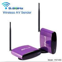 av transmitter receiver - High Quality PAT GHz m Wireless AV Sender TV Audio Video Transmitter Receiver Set for IPTV DVD STB DVR