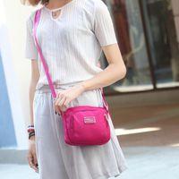 Wholesale Selling Portable Waterproof Oxford Cloth Handbag Shoulder Nylon Mini Fashion Mobile Phone Wallet