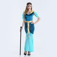 arabian clothing women - Egypt Goddess Clothing Arabian Girl Princess Clothing Halloween Slim Evening Dress Party Dress The Egyptian Goddess Plays