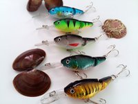 Wholesale 9CM g Sections Fishing Minnow Lure Artificial Bait Plastic Hard Bait Fishing Tackle