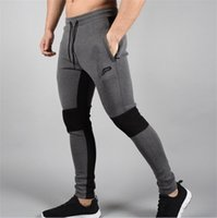 Wholesale 2016 fall and winter new fitness tights Running training pants trousers men s leisure trousers