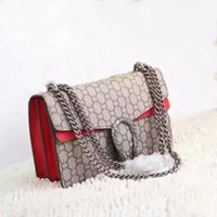 american names - New style High quality cm GG Fashion Brand Womens Handbag Luxury Brand Name Womens Bag High Quality Real Leather Shoulder Bag leather red