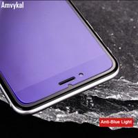 Compra Iphone vidrio de alta calidad-Para el iphone 7 6S SE 5S iphone7 vidrio templado protector de la pantalla Anti-Violeta Azul Luz Explosión Prueba de pantalla clara de alta calidad