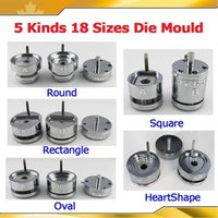 badge machine maker - Interchangeable Die Moulds for Pro Button Maker Badge Machine Sizes