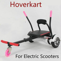 Wholesale new Hoverkart Go kart Karting For Electric Scooters Inch smart balancing electric smart balance hoverboard Gokart kart HoverSeat