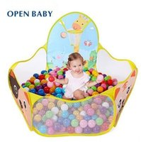 basket ball baby - New Arrive Child Toy Tent With Basket Free CM Ocean Balls Kids Ball Pit Pool Best Quality Multi Function Baby Tent
