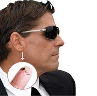 Wholesale 50pcs New Spy Ear Piece Earbud Device Mini Wireless Earpiece Earphone for Mobile Phone mm Jac