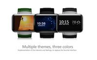 2017 téléphone intelligent de montre d'Android 5.1 MTK6572 Quad Core DM98 Bluetooth Smartwatch 3G SIM Wifi GPS montres de sport WCDMA Smartphone libre DHL