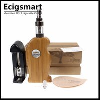 achat en gros de x8 atomiseur v2-Vente en gros - Kamry k600 wood E Cig Mod Kits de cigarettes électroniques avec X8 V2 Atomizer Smoking