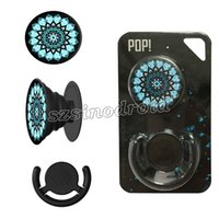 Wholesale Universal Pop Socket Phone Mount For iPhone plus Holder Expanding Stand Secure Grip PopSockets Combo Popclip Pack Bracket Retail Package