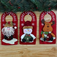 add door - Hot sale Christmas door hanging Christmas decorations add Christmas atmosphere decorations Christmas ornaments pendant QY01