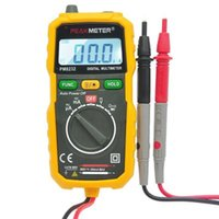 Wholesale high precision LCD display Portable PEAKMETER PM8232 Non contact Mini Digital Multimeter DC AC Voltage Current Tester