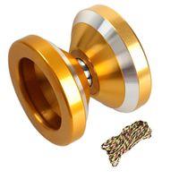 Wholesale High performance YOYO Magic Yo yo N8s Dare to do String Trick Gold Aluminum toy FCI