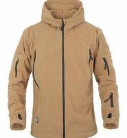 ag coat - MAGCOMSEN Military Men Fleece Tactical Softshell Jacket Polartec Thermal Polar Hooded Jacket and Coat Men Clothes AG YCIDL