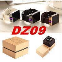 Wholesale 2016 New Smart Watch Phone DZ09 Touch Screen Bluetooth Smartwatch DZ09 wrist watch With Camera and Sim Card Slot VS U8 M26 W8 GT08