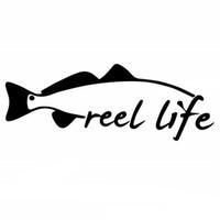 Красная форель Цены-15.3cm * 5.8cm Reel Life Рыбалка Форель Red Fish Снук Приманка Rod автомобиля стикер автомобиля винила стайлинг автомобилей Acessories украшения C8-0098