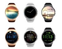 Wholesale Genuine KW18 Bluetooth smart watch full screen Support SIM TF Card Smartwatch Phone Heart Rate for apple gear s2 huawei