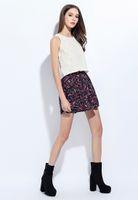 Wholesale The Summer lightweight Floral skirt