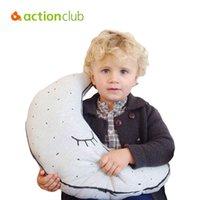 Venta al por mayor- Juguetes de peluche para bebés infantiles cama de noche Luminous muñeca luna muñecas decoración para niños Niño juguetes Juguetes de calma para bebé recién nacido