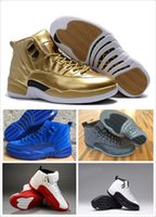Wholesale 2017 new Online big kids Basketball Shoes air Retro TAXI Playoff BLAck Flu Game Cherry s XII Men boots