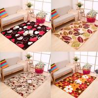 Wholesale floor mats carpet Coral velvet memory foam carpet the living room office bathroom anti slip carpet