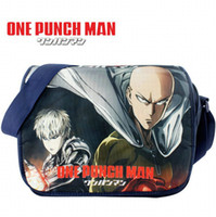 Wholesale One punch man shoulder bag Youth anime pack Picture cartoon sling case Outdoor sport messenger pouch