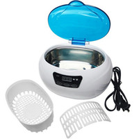 Wholesale Nail tools sterilizer ML Ultrasonic Cleaner for Metal Tool Watch Salon Beauty Equipment