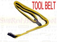belt making tools - SunRed taiwan made high quality yellow with black self locking waist bag tool belt for electricians NO freeshipping