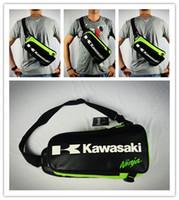 Wholesale 2017 High quality Motorcycle Backpack Shoulder bag Chest bags off road Multifunctional Sport bag For Kawasaki Komine Bag