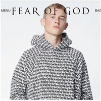 Wholesale Newest Fashion Fear Of God Hoodie Pacsun Collection Justin Bieber Men s Sweatshirts O Neck Solid Women Hoody Sweatshirt