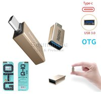 Wholesale REMAX Micro USB to Type C Adapter Chargering Data USB to i6 i7 Type C to USB Super Speed Transfer OTG Adapter Covertor