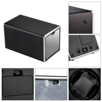 Wholesale High Quality USB Black Single Metal Automatic Rectangle Watch Winder Mute Gift