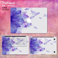 Wholesale China Ink painting2 Vinyl Cover Laptop decal Protective Film macbook sticker For Apple Macbook Air Pro Retina inch