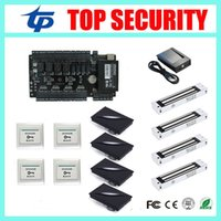 Wholesale C3 access control panel access control board system TCP IP door access control waterproof RFID card reader with EM lock