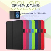 amazon book stand - For Amazon new Fire Leather Stand Smart Case Cover For new kindle fire quot para e Book Cases
