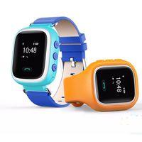 2017 Nouveaux Enfants GPS Q60 Montre Montre Smart Watch SOS Call Localisation Finder Tracker pour Kid Safe Anti Lost Monitor PK Q50 Q80 Vente en gros