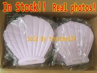 Wholesale In Stock Drop Ship Mermaid Spectrum Brushes Mermaid Dreams Piece Vegan Brush Set Glam Clam Case Vegan Makeup Brush Set DHL Free