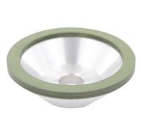Wholesale 1pc Grit Green Resin Grinding Wheel mm Outside Diameter mm Mounting Hole mm Overall Depth