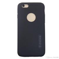 al por mayor iphone plástico de silicio-Para el iPhone 6 6s 2in1 Plástico duro Cubierta trasera + Caja suave del silicón T-tviva Cubierta antichoque Piel protectora Anti-Rasguño Resistente a la suciedad