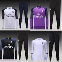 Wholesale training suit Euro Cup maillot de foot French national football training wear long sleeved tracksuit football jacket pan