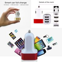 air port cars - Car Charger port Rapid USB Car battery Chargers Adapter for Apple Iphone s s s c Ipad Air Ipad Mini