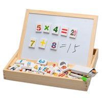 alphabet writing - Happy Cherry Family Education Digital Alphabet Wood Magnetic Puzzle Writing Drawing Toys Board Wooden Children Kid Child Gift