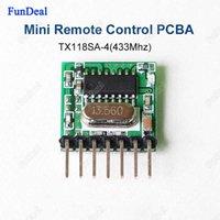 Wholesale 500pcs mhz Mini Wireless RF Remote Control EV1527 Learning code Mhz Transmitter For Gate Garage Doorbell Alarm Arduino ARM DIY