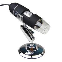 50PCS électronique pratique 2MP USB 8 LED appareil photo numérique Microscope endoscope loupe 50X ~ 500X caméra vidéo de mesure de grossissement