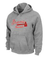 big atlanta - Excellent Quality Atlanta Braves Baseball Hoodies Big Tall Logo Pullover Sweatshirt Hoody